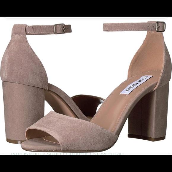 c2d515bd3e Steve Madden Shoes   Mirna Leather Ankle Strap Pumps   Poshmark